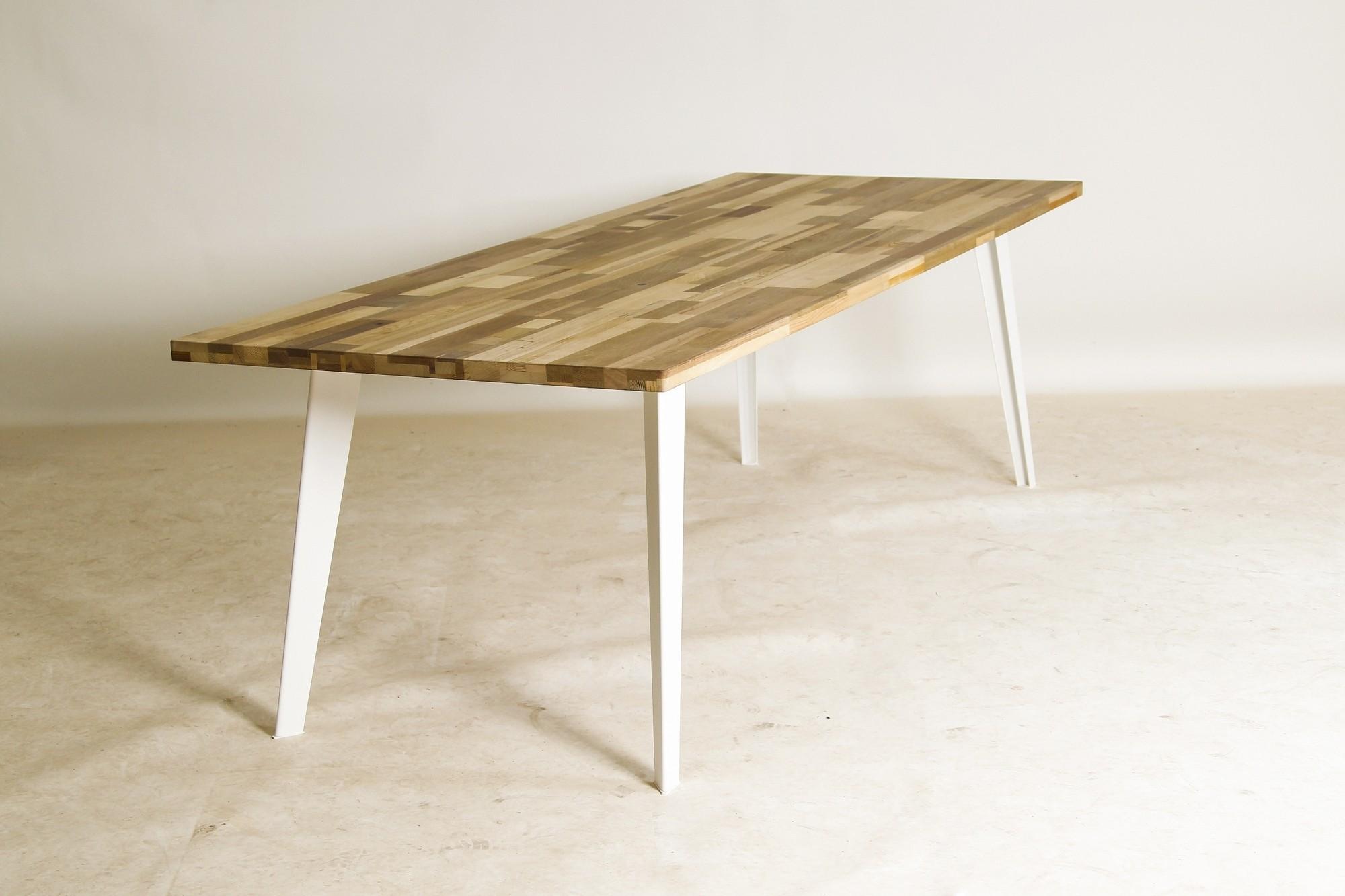 Massief Houten Tafel : Gerecyclede tafel miro massief houten tafel mv katoor
