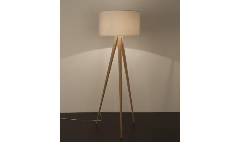 Staande lampen met houten voet lamp van tak nieuwe inrichting