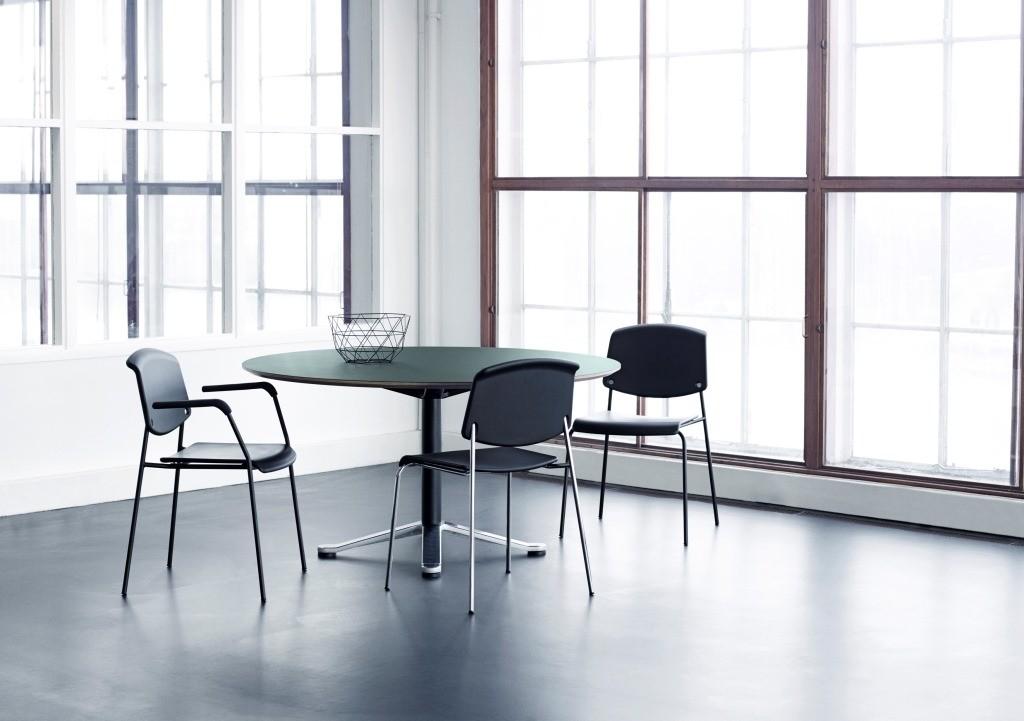 Butterfly tafel rond ronde tafels mv kantoor