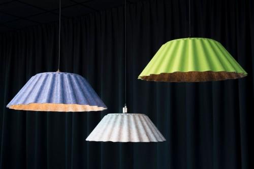 Silent pendant lamp - MV Kantoor