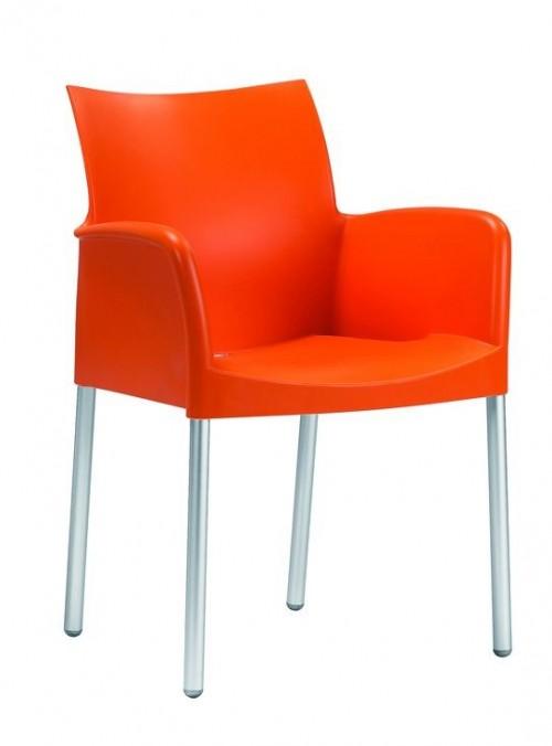 Kunststof stoel Ice 850 - opnieuw kantine inrichten - mv kantoor