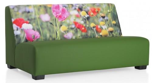 Loungebank Flowers - mv kantoor - bankstel