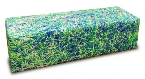 Hocker Gras 120 cm (poefen) - mv kantoor