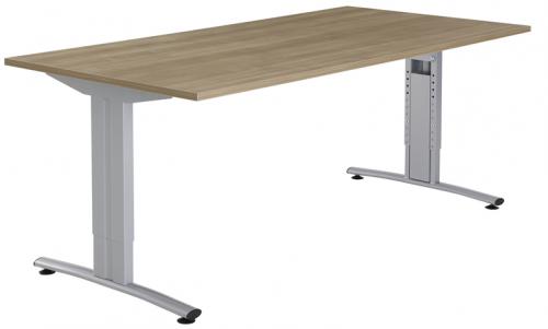 Basic vergadertafel recht BV1000 - vergadertafel op maat - mv kantoor