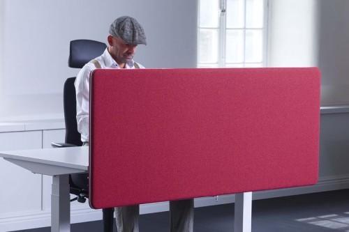 ScreenIt A30 akoestische bureau scheidingswand - geluid dempen kantoor - mv kantoor