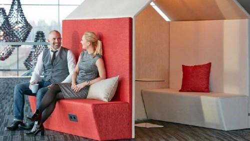 The Hut Sofa - akoestische bank - akoestiek verbeteren kantoor