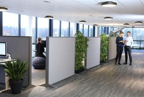 Block akoestisch scherm - akoestische oplossing kantoor - mv kantoor