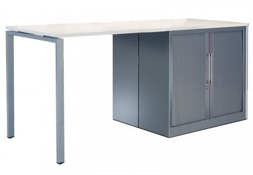 Toto hoge tafel met kast - MV Kantoor