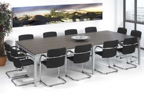 Quartet vergadertafel recht - MV Kantoor