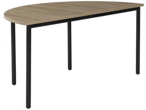 Standaard tafel halfrond TS1306 - mv kantoor