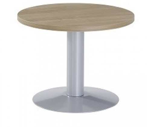 Lage ronde bijzettafel 60 cm