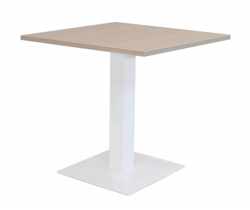 Kolomtafel met vierkante voet - MV Kantoor