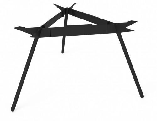 Driepoot onderstel - zwart - onderstel tafel - mv kantoor