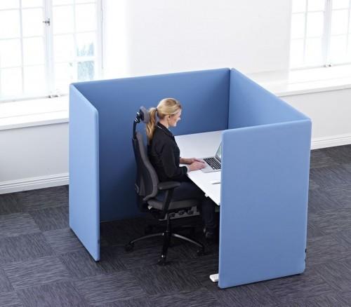 ScreenIt A30 booth met 4 schermen - akoestische werkplek - mv kantoor