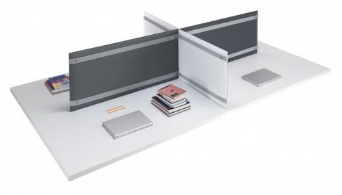 Akoestisch bureaupaneel Pli Desk - MV Kantoor