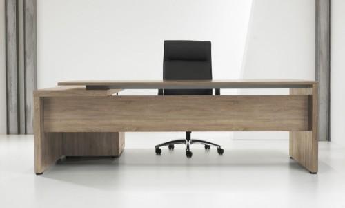 Directiebureau Manager L-vorm + Ladenblok - MV Kantoor