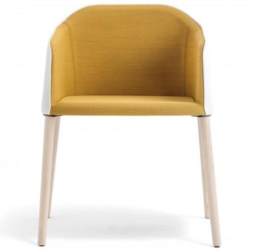 Gestoffeerde stoel Laja 884 - Pedrali design loungestoel - MV Kantoor