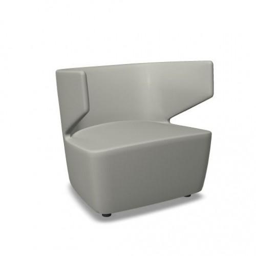 Loungestoel Work A - gestoffeerde loungestoelen - MV Kantoor