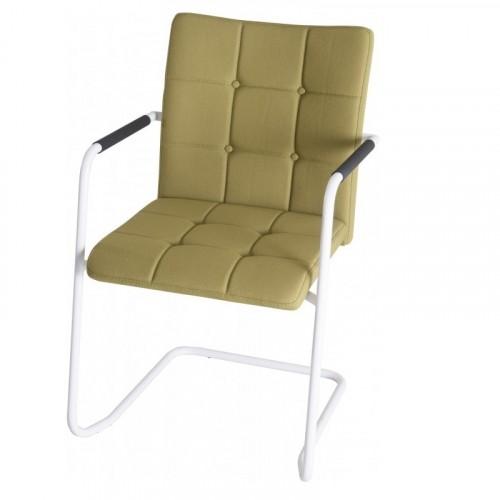Alfa stoel slede frame hoge rug