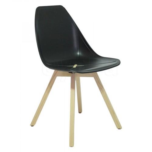 X-Chair stoel houten frame