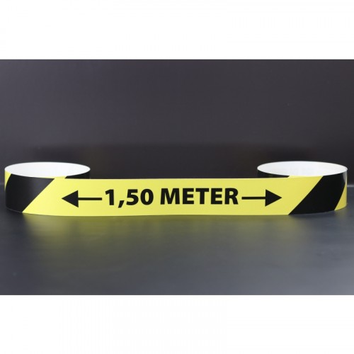 Anderhalve meter maatsticker