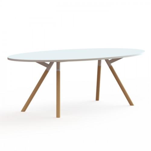 bridge tafel ellips vorm
