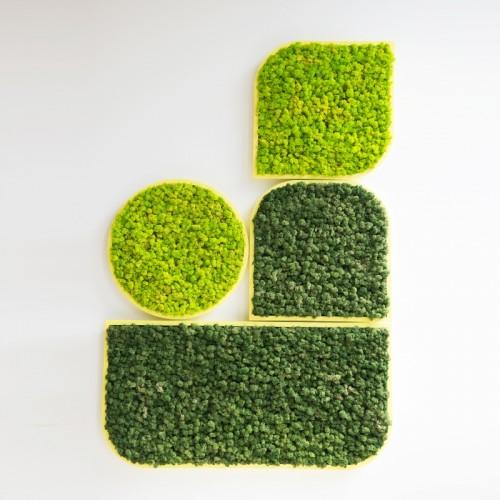 BuzziSpace BuzziMood groene wand