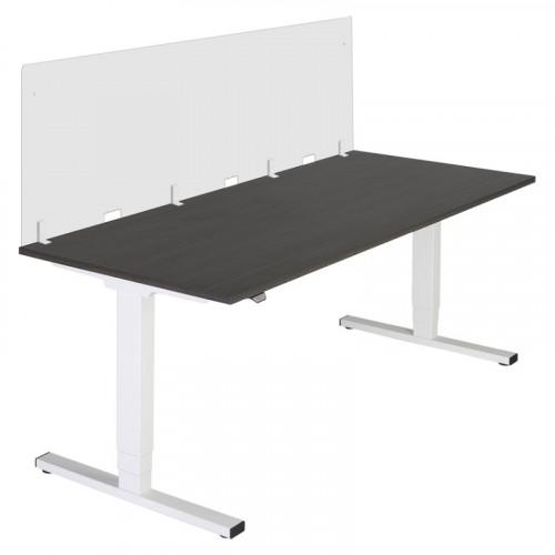 Bureauscherm van plexiglas