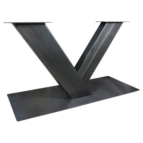 Zwart Industriële tafelonderstel V-poot zwaar - onderstel tafel - mv kantoor