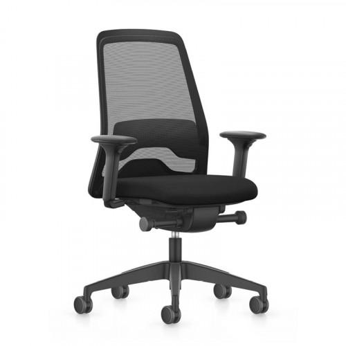 Thuiswerk bureaustoel Every EV211 zwart
