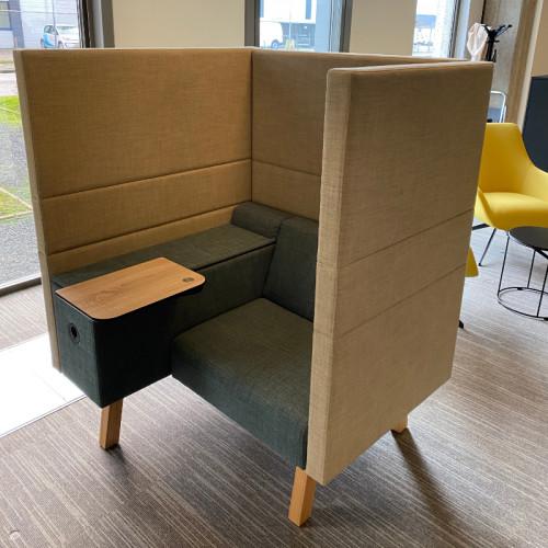 Markant Office hybrid werkplek