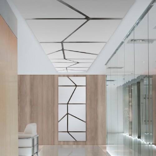 Akoestisch plafondpaneel Flat