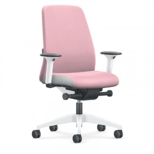 Interstuhl bureaustoel roze