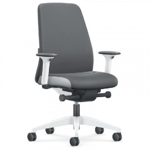 Interstuhl Every grijze bureaustoel