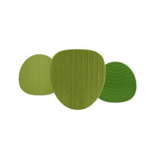 Akoestische panelen groen