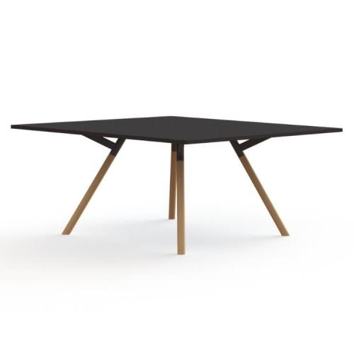 Bridge tafel vierkant beuken