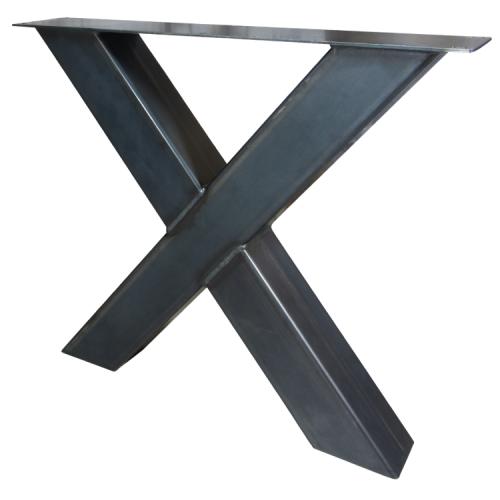 Industriële tafelonderstel X-poot zwaar