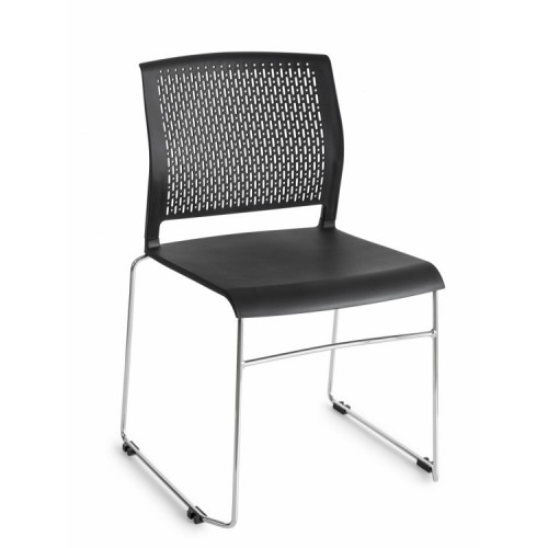 Design stoel 804 zwart