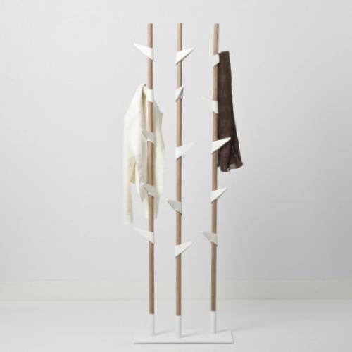 Kapstok Bamboo met drie staanders