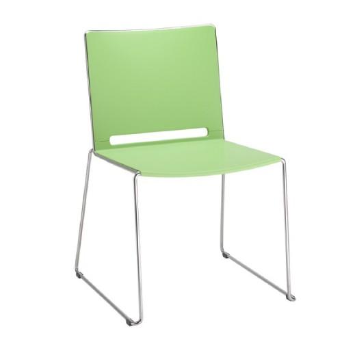 Kunststof stoel marko groen