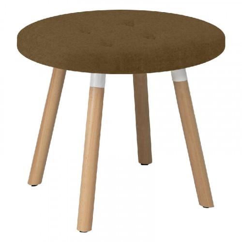 Lage ronde kruk bench