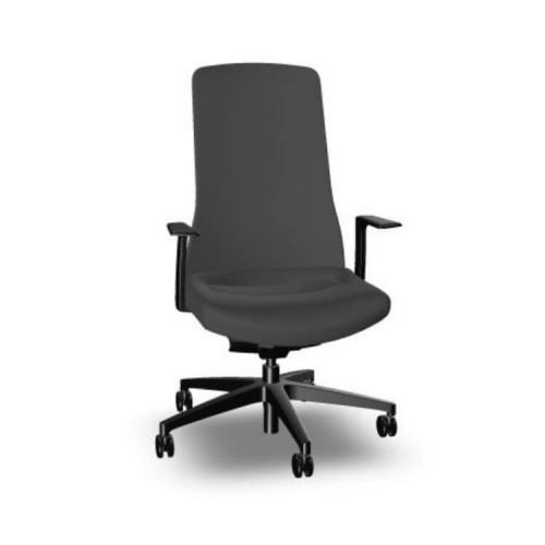 Pure bureaustoel antraciet zwart