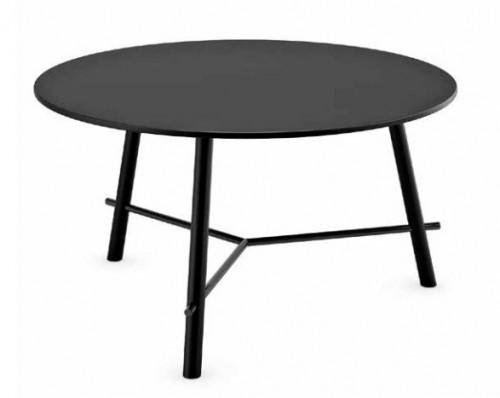 Ronde tafel Record zwart