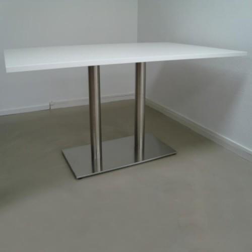 Tafel wit 140x90cm afgeprijsd
