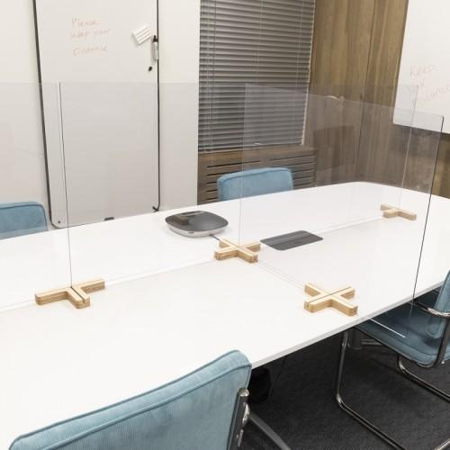 Vrijstaande preventiepanelen voor kantoor