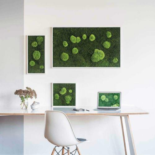Mosschilderij voor kantoor