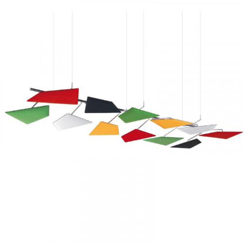 Flap akoestisch plafondpaneel
