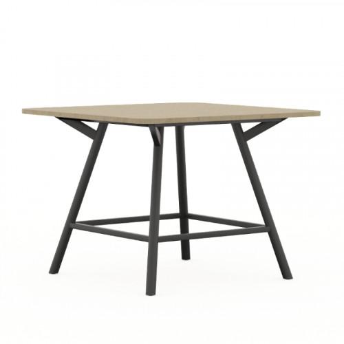 vierkante tafel bridge 90 cm hoog