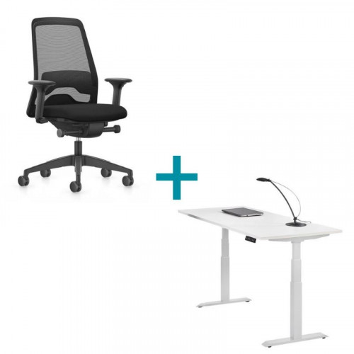 thuiswerk aanbieding bureau en bureaustoel