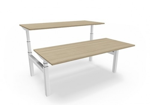 Matrix Duo zit-sta bureau - MV Kantoor